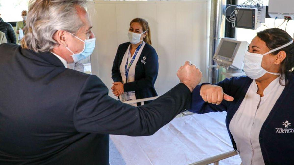 El Gobierno de Fernández terminó un año marcado por la pandemia.