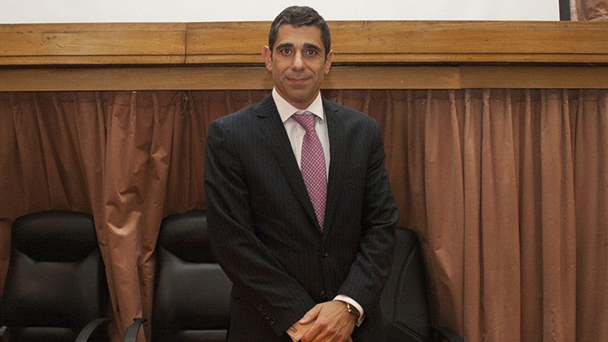 Daniel Petrone. Es el juez que presidió la audiencia y a quien Cristina criticó con dureza.
