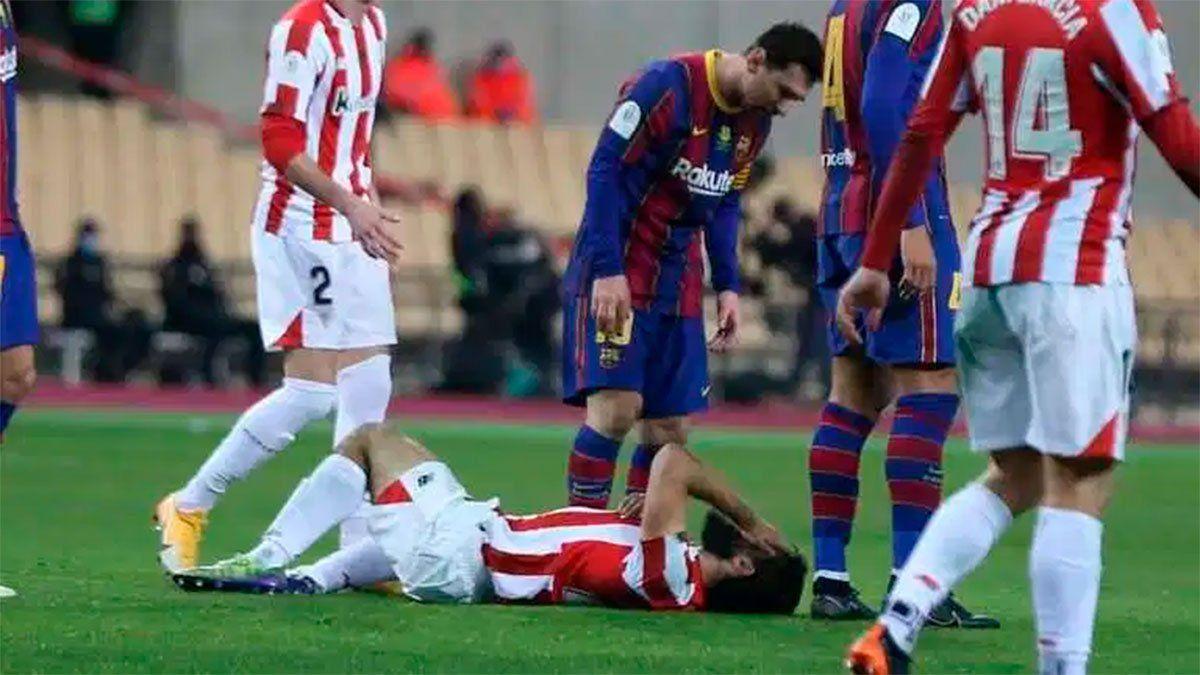 Barcelona pedirá rebajar la sanción a Messi tras la roja