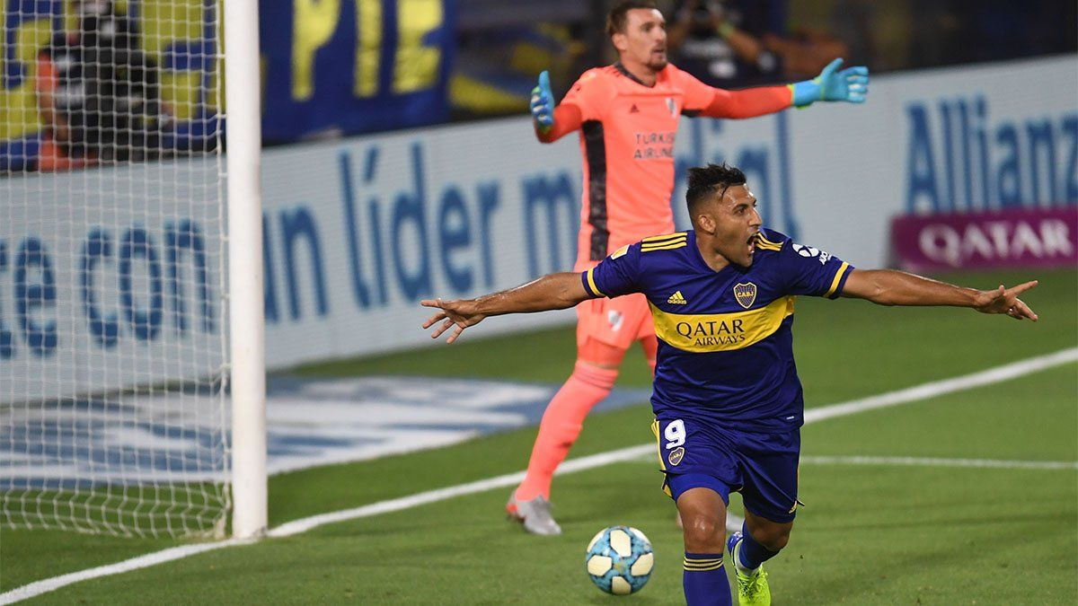 Wanchope Ábila, el infaltable goleador de Boca