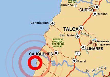 Dos réplicas de 4,9 grados Richter sacudieron a Chile esta tarde