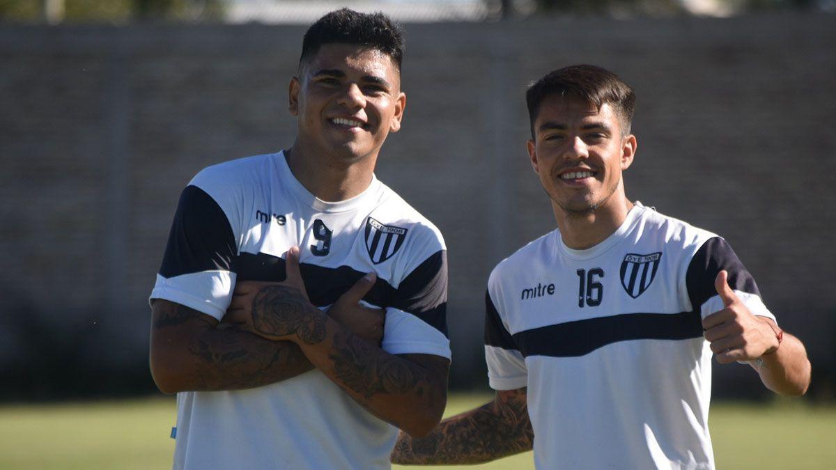 Ramón Lentini y Santiago González la dupla ofensiva del Lobo.