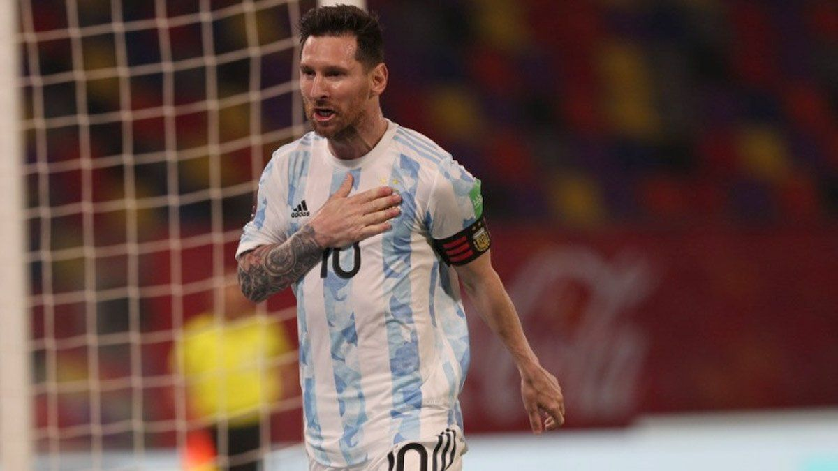 ¡Messi se puso nervioso en el penal!
