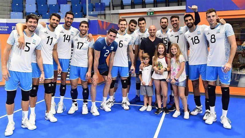 Argentina remontó pero terminó perdiendo con Polonia en el tie break