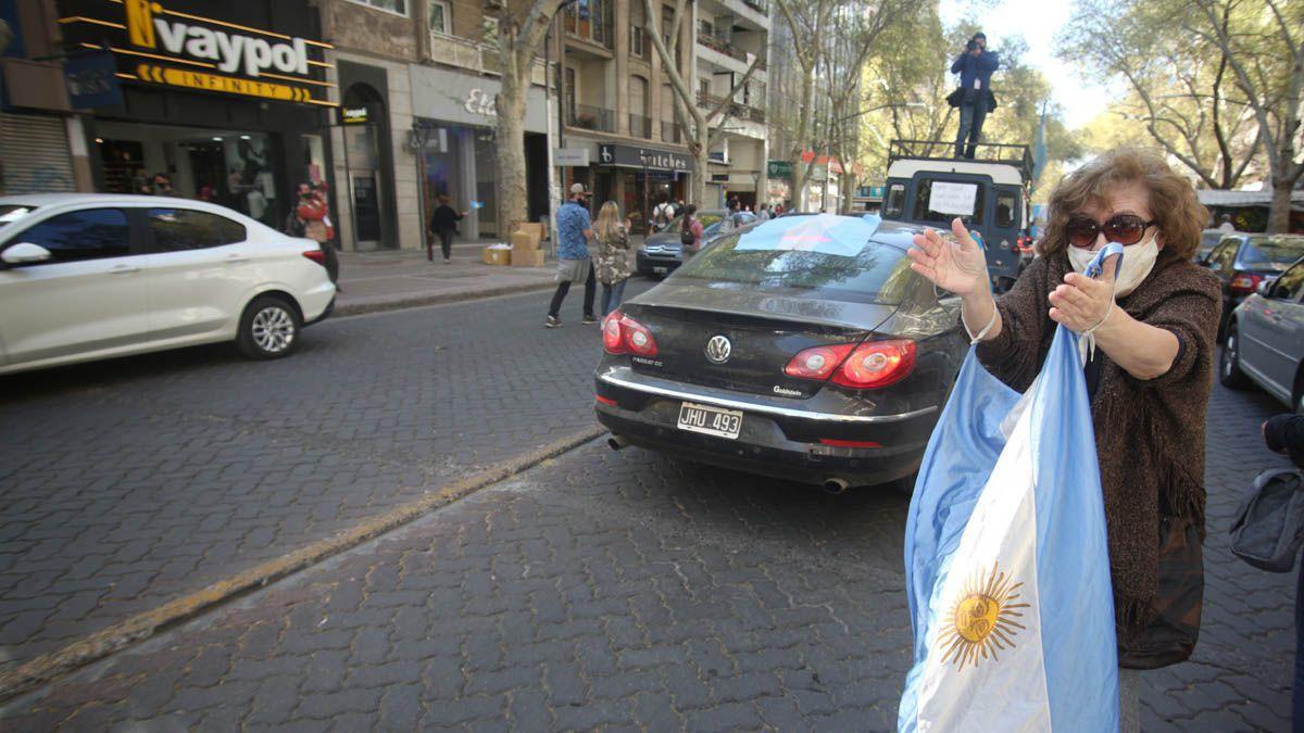 Una imagen que podrá repetirse este martes en Mendoza.