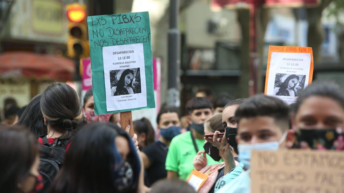 Hubo una marcha para reclamar por Florencia