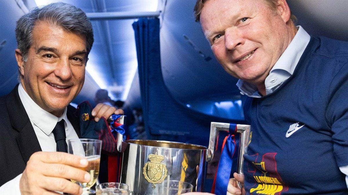Koeman se queda en el Barcelona y dirigirá a Messi y Agüero
