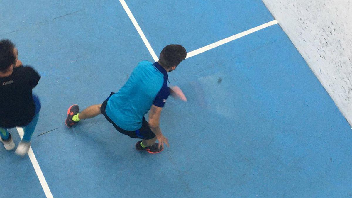 El squash mendocino volvió al ruedo