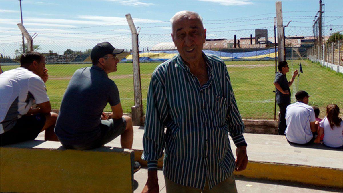 El Turco Jorge Julio falleció a los 87 años. Foto gentileza Infobravo.com.