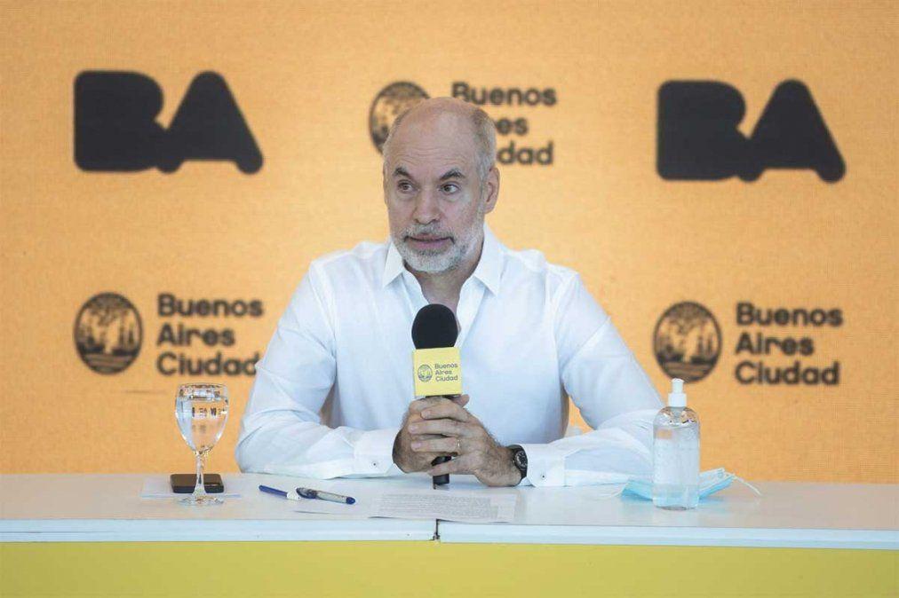 Horacio Rodríguez Larreta fue denunciado ante la Justicia Federal por desobediencia y desacato