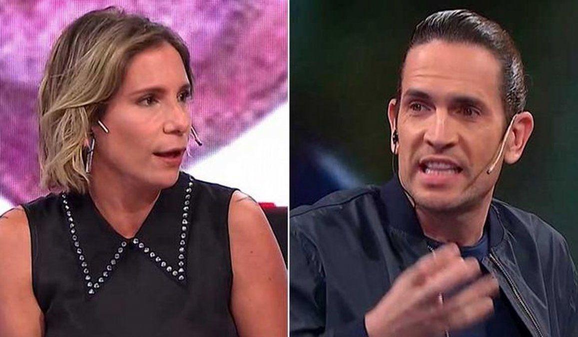 Diego Ramos y Ángela Lerena se sacaron chispas en TV Nostra
