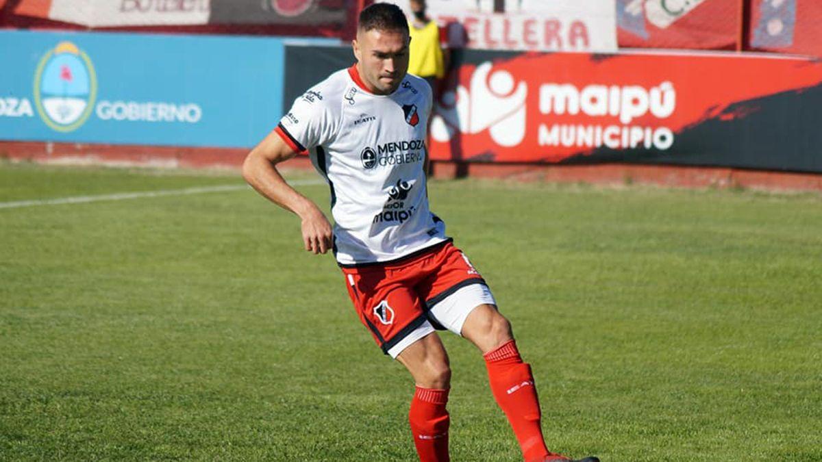 Fernando Moreyra se lamentó por el empate del Deportivo Maipú.