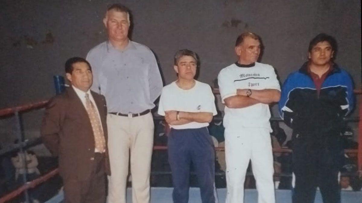 Sobresale Juan Antonio Figueroa junto a otros ex boxeadores: Soria