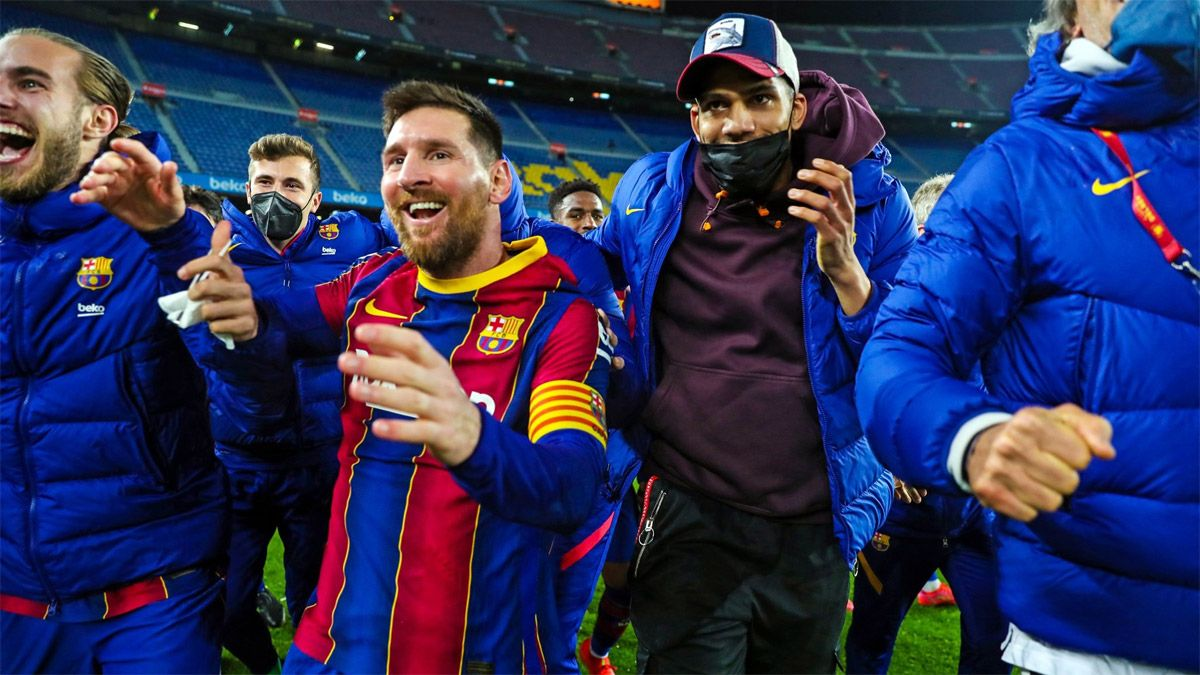 Messi explotó con el Sevilla: Se van calentitos