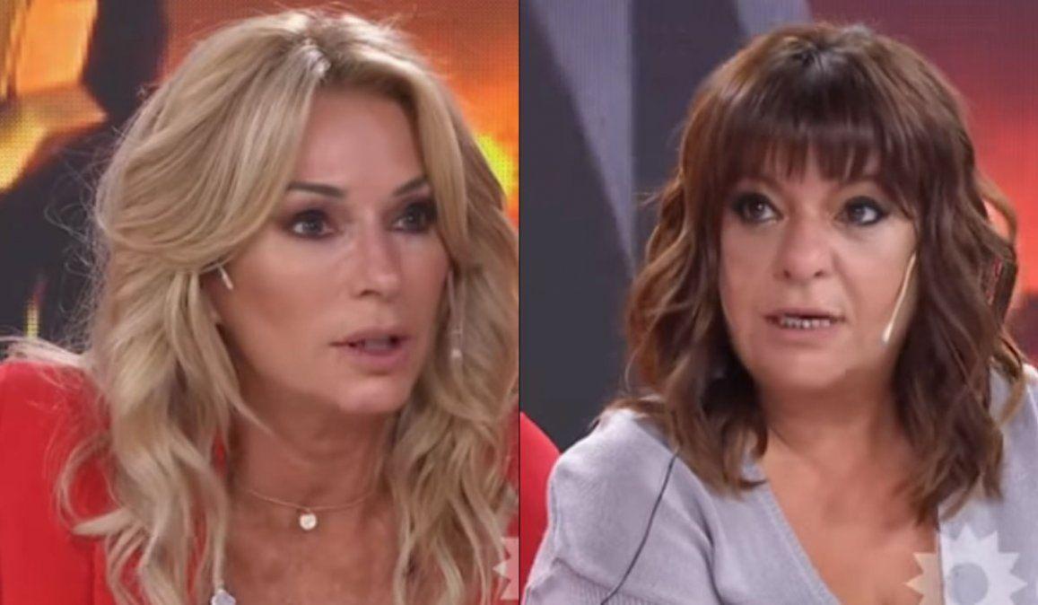 El motivo de la pelea entre Andrea Taboada y Yanina Latorre.