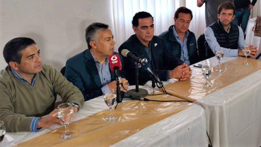 El gobernador Cornejo dijo que es un momento de mejorías para la ganadería