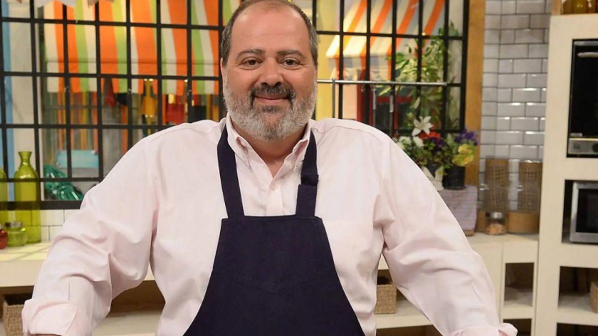 Guillermo Calabrese y su emotiva despedida de Cocineros argentinos