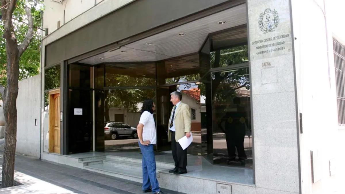 Las instalaciones de la Inspección General de Seguridad de Mendoza.