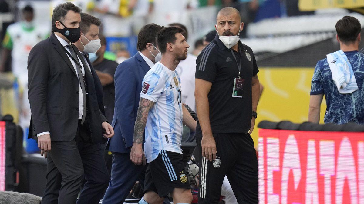 La Selección Argentina habría desestimado los mails recibidos antes de jugar con Brasil.