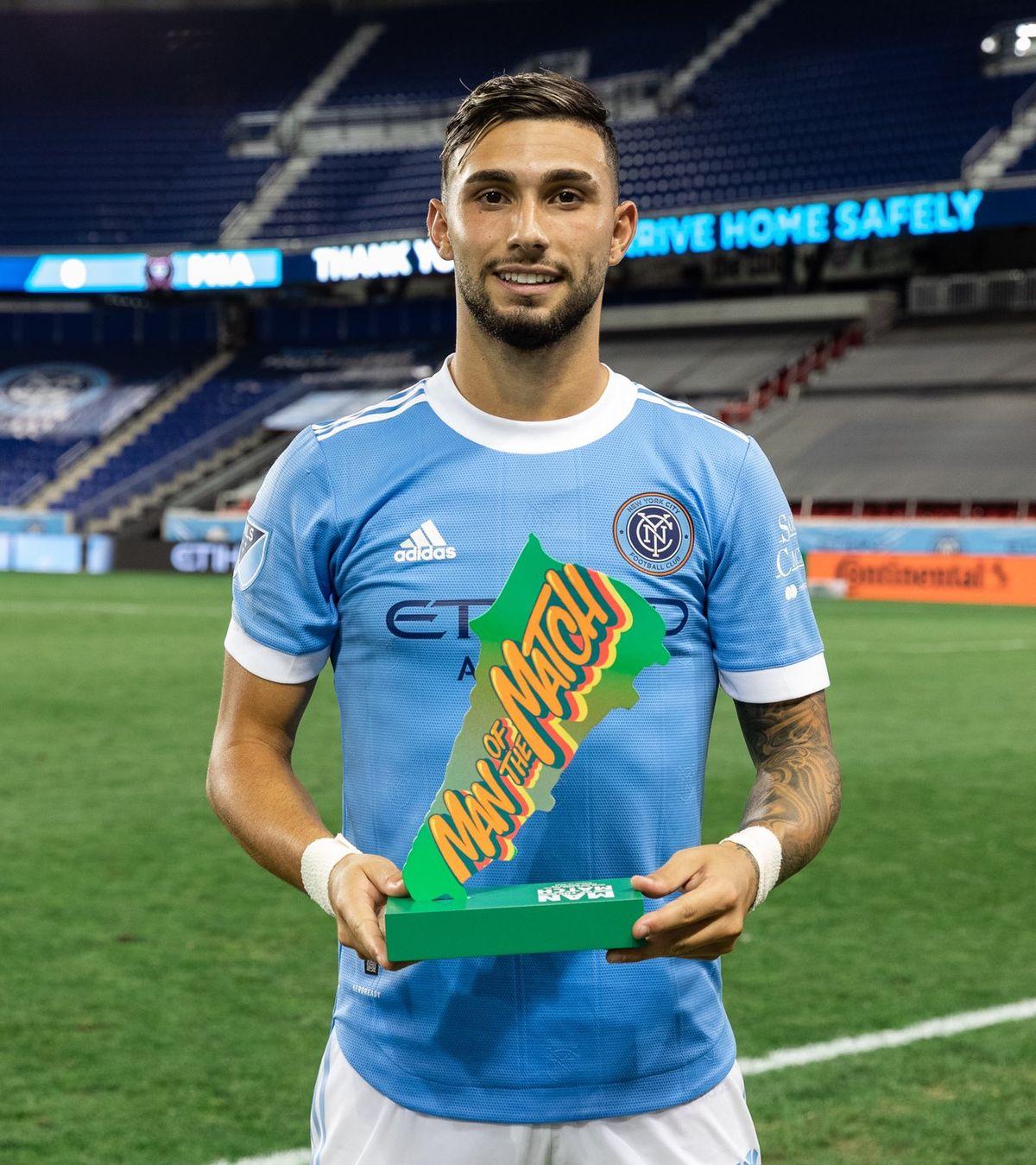 Valentín Castellanos es figura en la MLS.