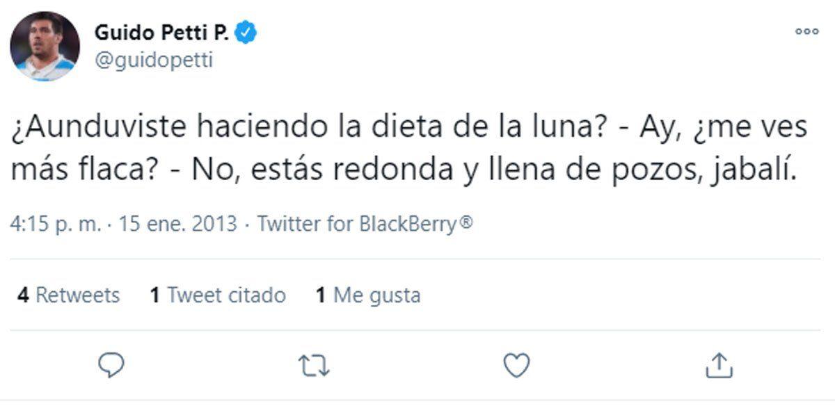 Matera y Petti: los viejos tuits del escándalo