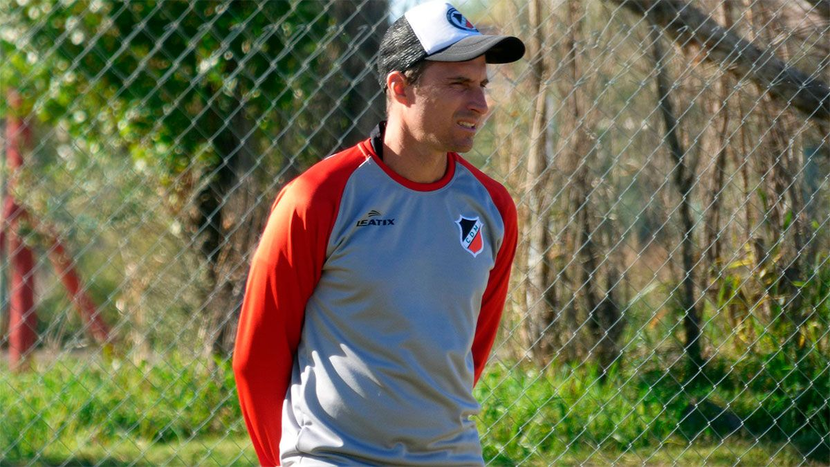 Luciano Theiler palpitó el partido como local ante Quilmes. (Fotos gentileza Deportivo Maipú).