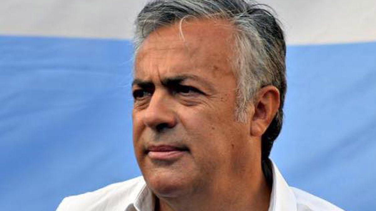 Alfredo Cornejo permanece internado desde el sábado por la noche.