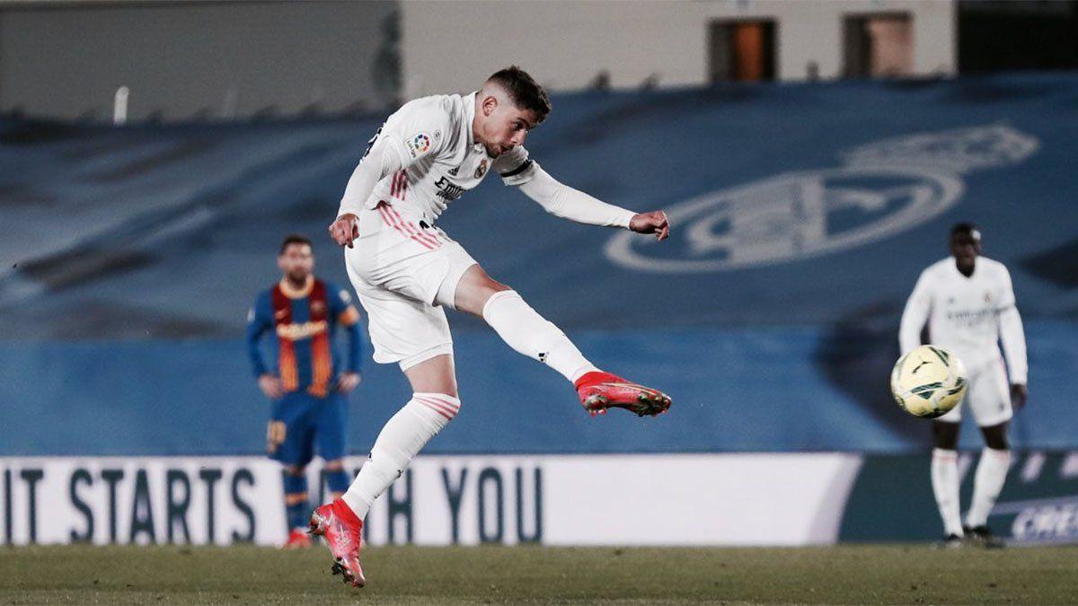 La impresionante foto del tobillo de Federico Valverde, del Real Madrid