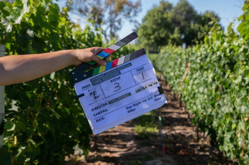 La película Historias de Vendimia fue rodada en escenarios naturales de Mendoza.