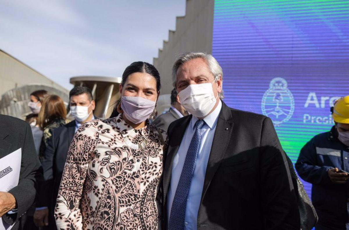 Horas después de participar en los actos con el Presidente, Flor Destéfanis dio a luz