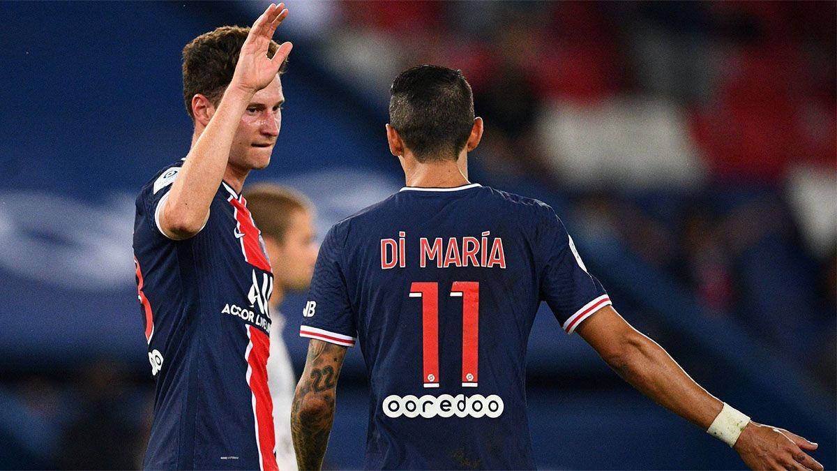PSG, con Icardi y Di María, le ganó sobre la hora al Metz