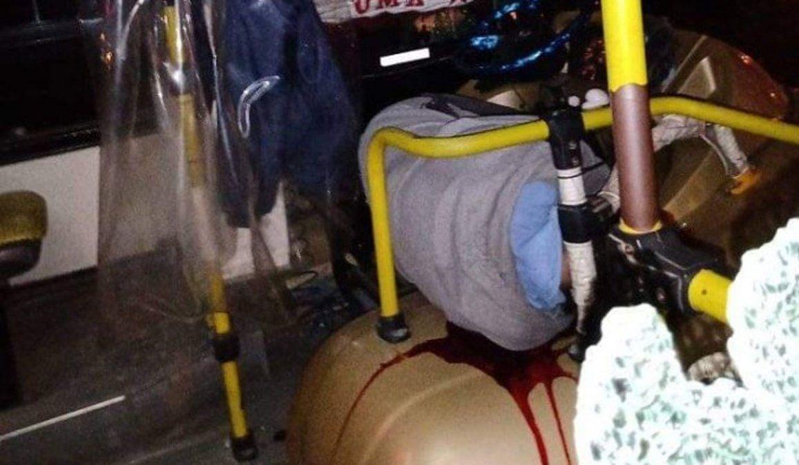 Video: asesinaron a un chofer de colectivo en La Matanza