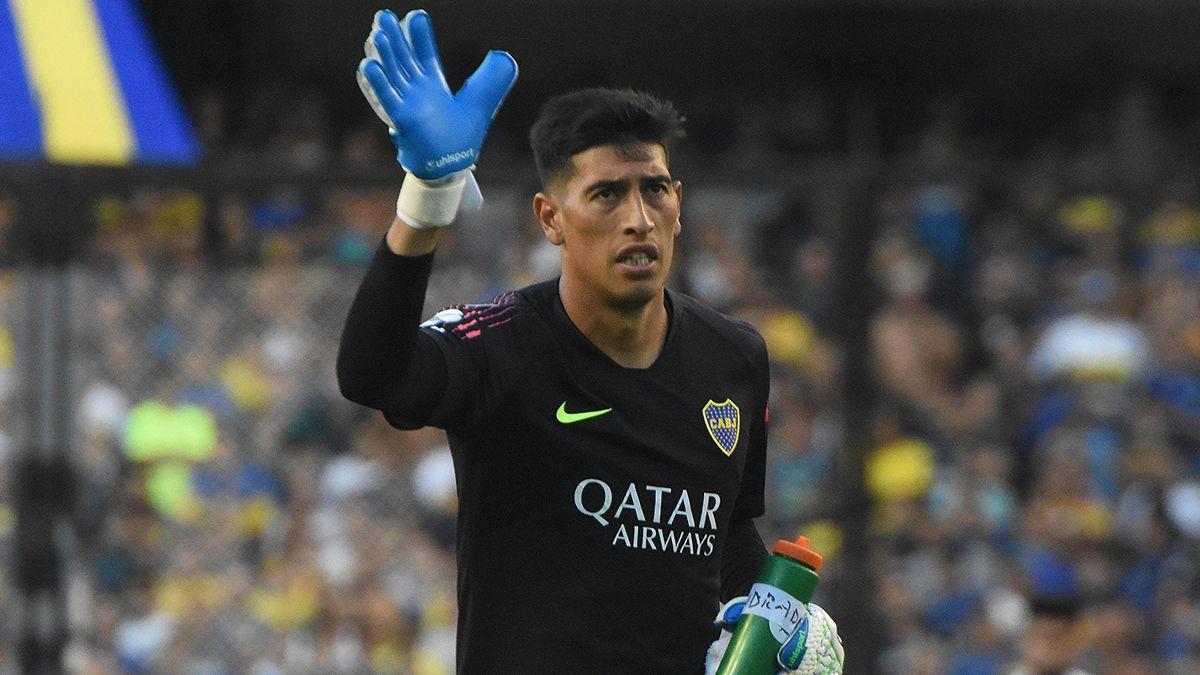 Esteban Andrada se va de Boca después de 3 años como titular.