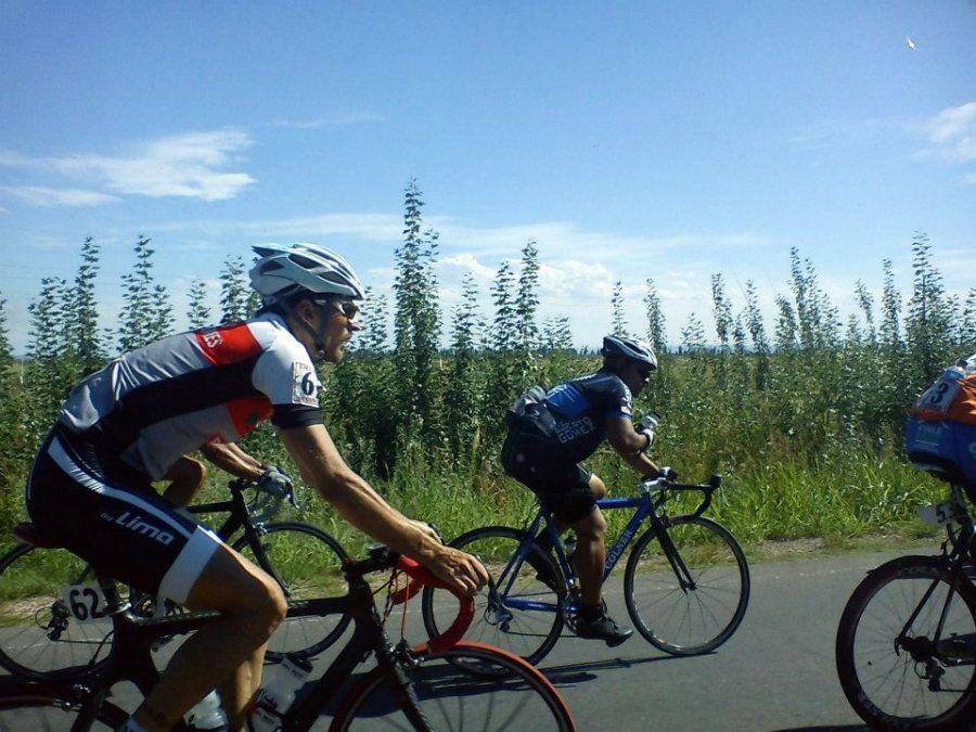 Ciclistas sureños compitieron en el Argentino de ruta
