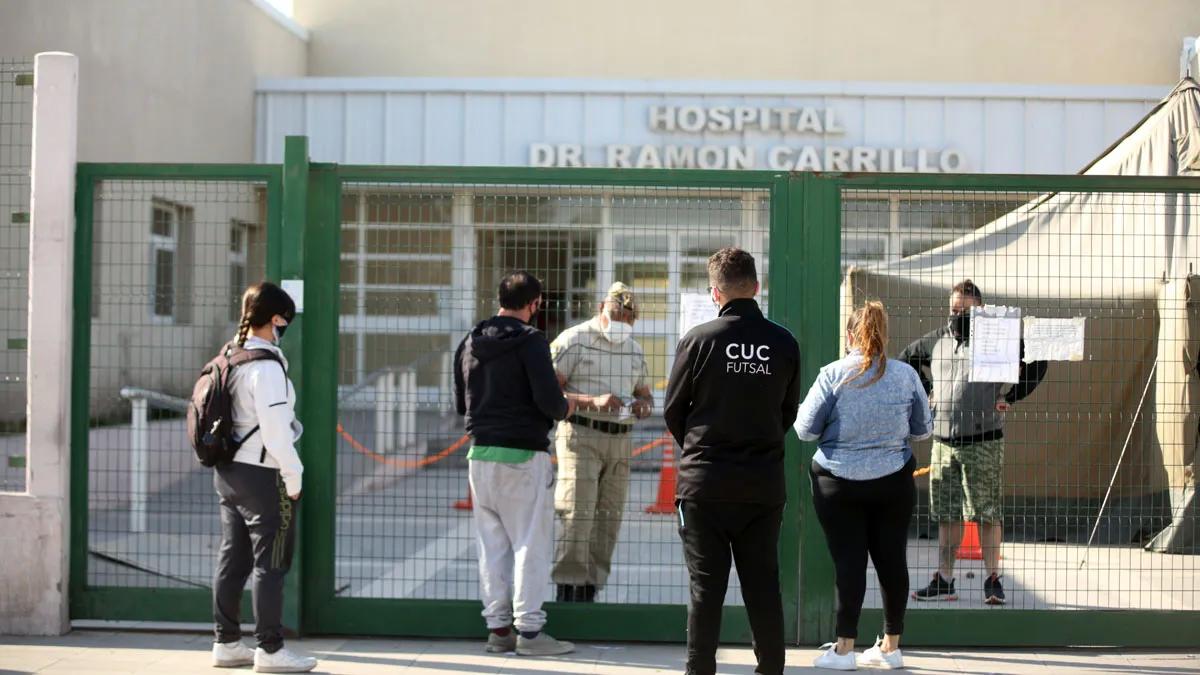 En el hospital Ramón Carillo de Las Heras