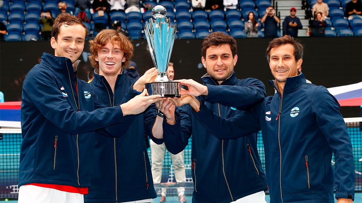 Rusia ganó su primera Copa ATP en Australia