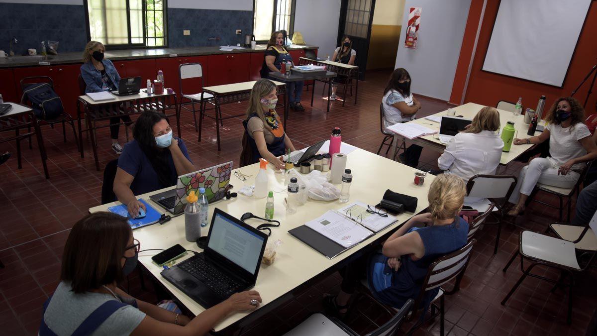 Las jornadas institucionales para docentes de Mendoza comenzaron la semana pasada y continuarán hasta el viernes próximo