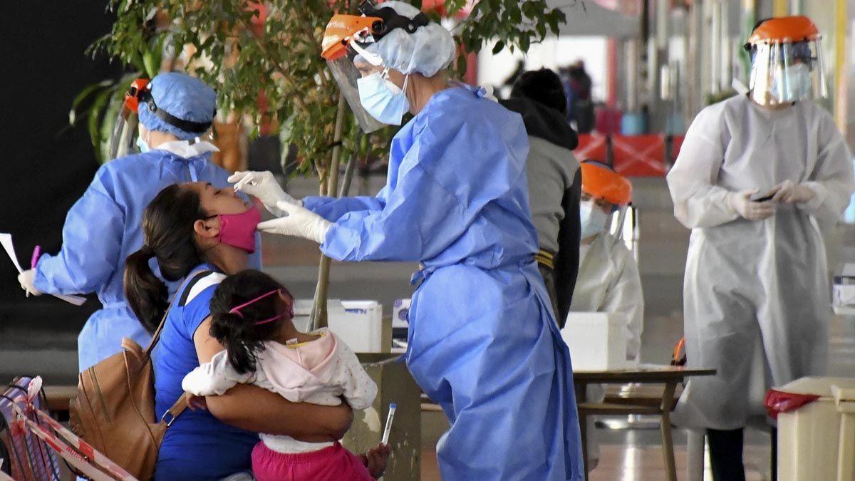 Se registraron 8.593 nuevos casos de pacientes con coronavirus en Argentina.