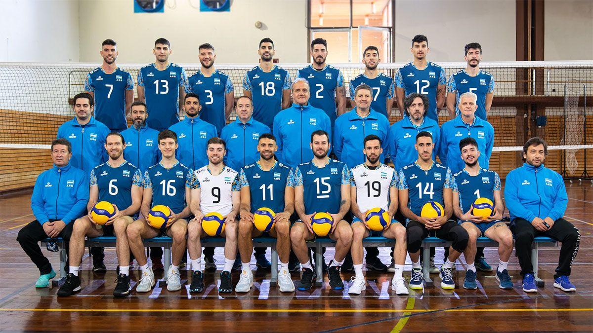 La Selección de vóleibol, con problemas de Covid