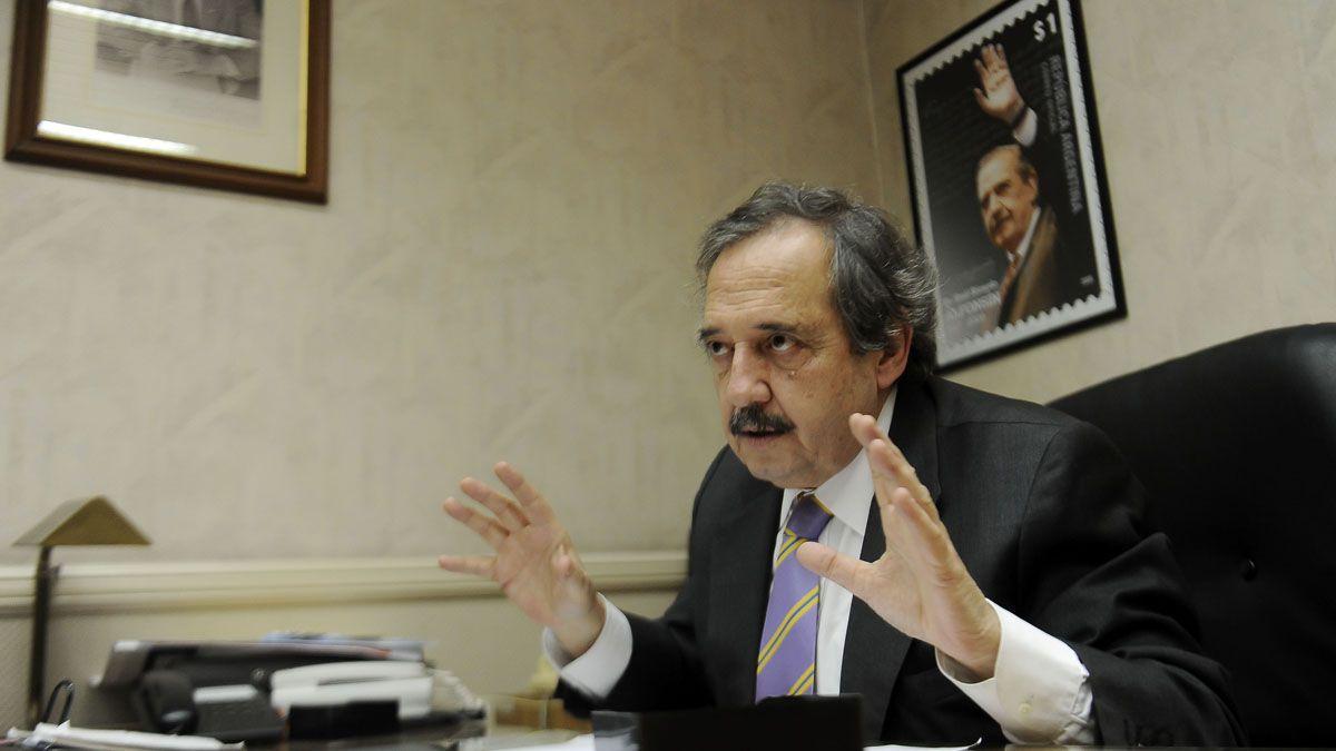 Ricardo Alfonsín se refirió a la denuncia por el envío de armas a Bolivia.