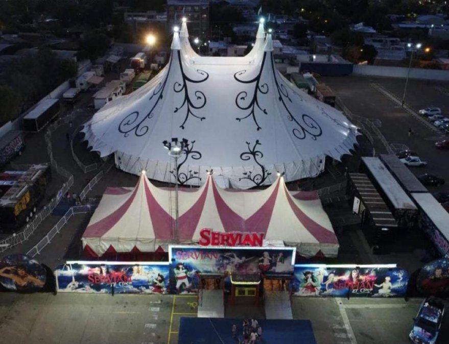 Servian el circo, llega a Mendoza después de 8 años
