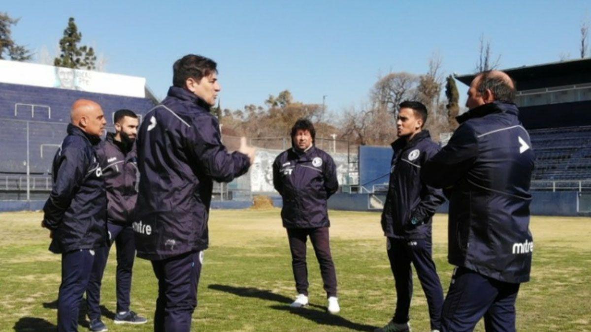 El entrenador de Independiente RIvadavia