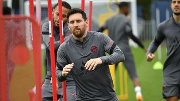 Lionel Messi está listo para jugar en el PSG ante el City