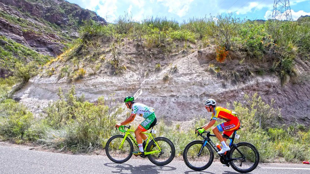 Sergio Fredes se quedó con la segunda etapa de la Vuelta de Mendoza