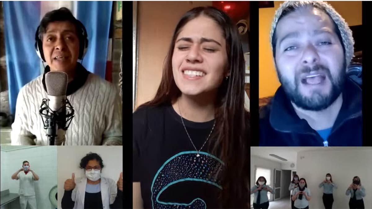 Los músicos mendocinos y su video para los trabajadores de la salud.