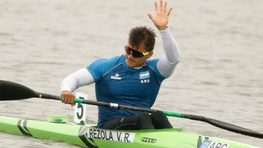 Rubén Rézola sumó un nuevo podio para el canotaje en los Juegos Panamericanos