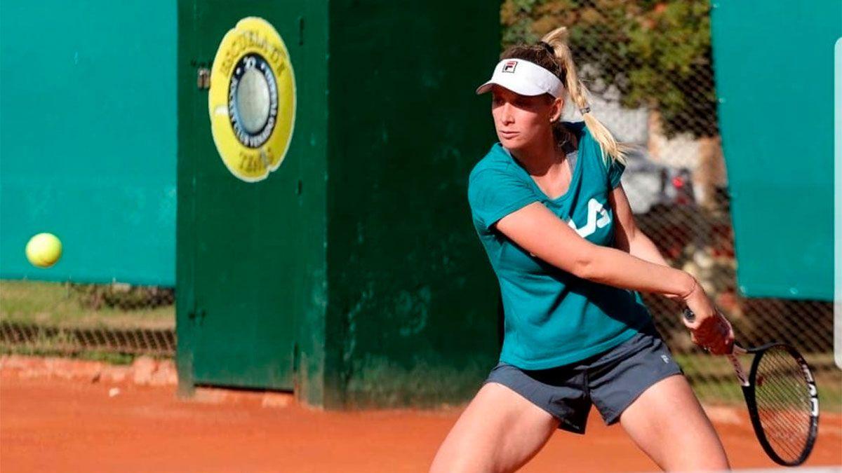 Victoria Bosio perdió en su debut en Turquía