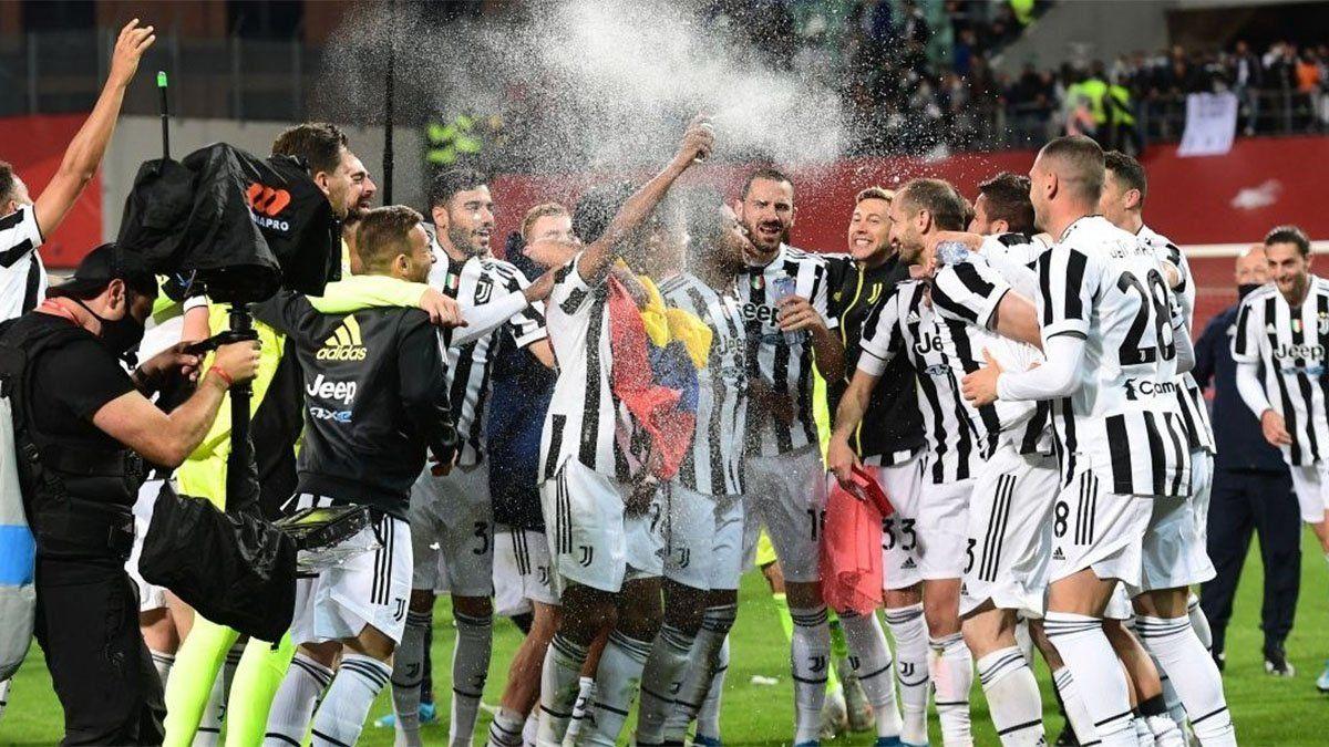 ¡Gran desahogo! Juventus, con Dybala, es campeón de la Copa Italia