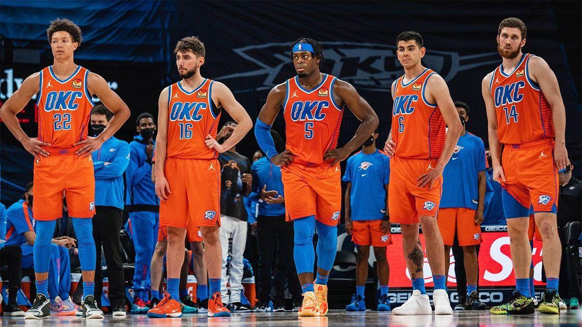 Gabriel Deck debutó en la NBA con Oklahoma City Thunder