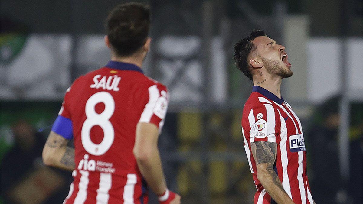 Atlético de Madrid cumplió con un trámite en la Copa del Rey